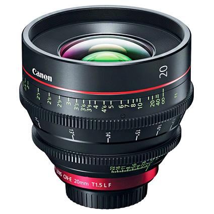 Canon CN-E 20mm T1.5 EF