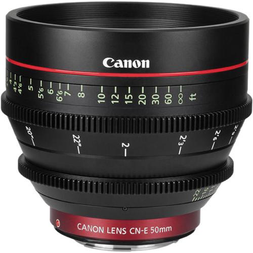 Canon CN-E 50mm T1.3 Lens