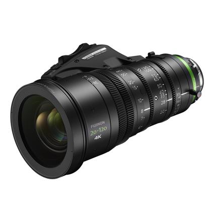 Fujinon 20-120mm T3.5 Lens