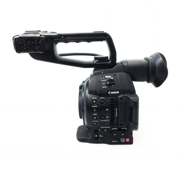 Canon EOSC C100 Mark II Body Only (Used)