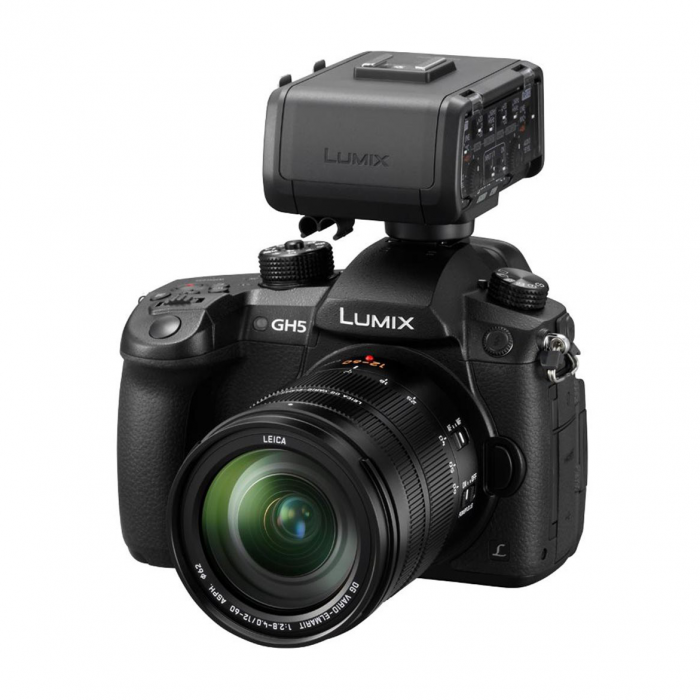 Lumix GH5 and DMW-XLR1E Adaptor Bundle