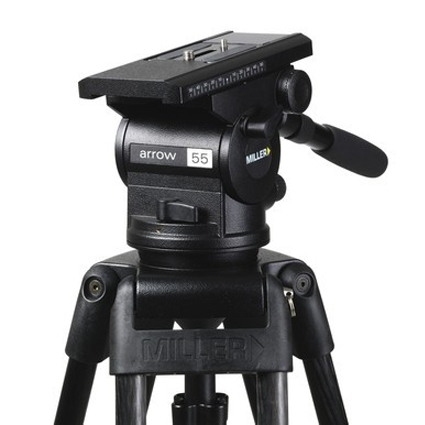 Miller 1741 Arrow 55 Fluid Head Tripod