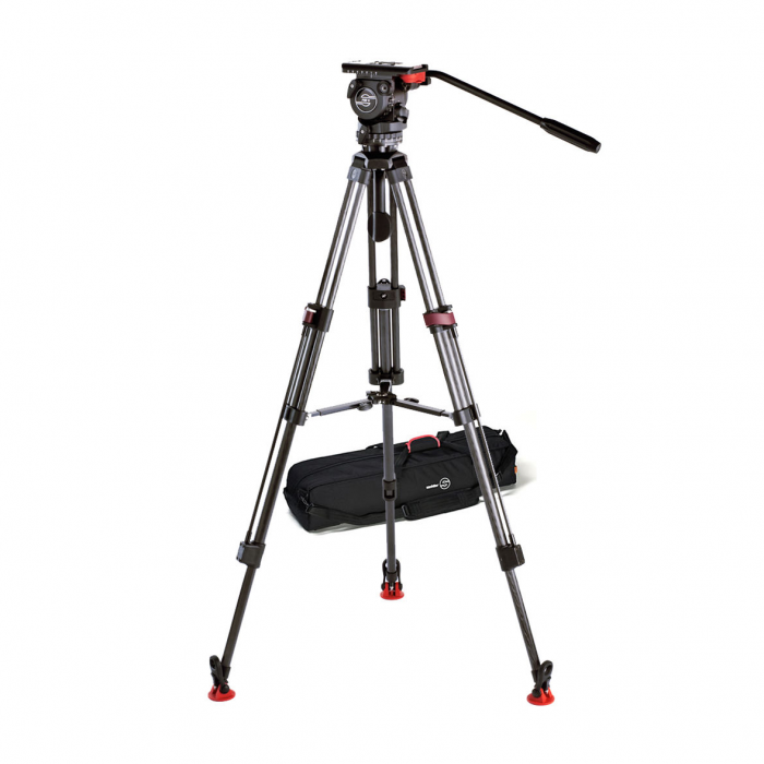 Sachtler 0750 System FSB 8T Fluid Head with Speed-Lock Carbon Fibre Tripod