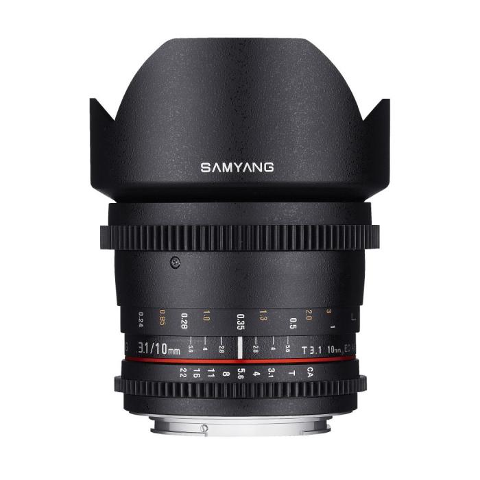 Samyang 10mm T3.1 Canon EF