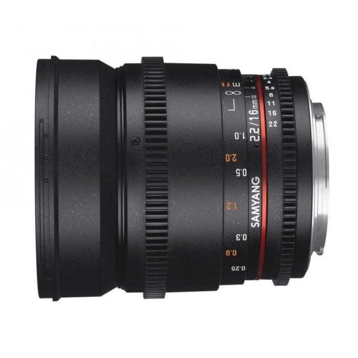 Samyang 16mm T2.2 VDSLR II SONY E
