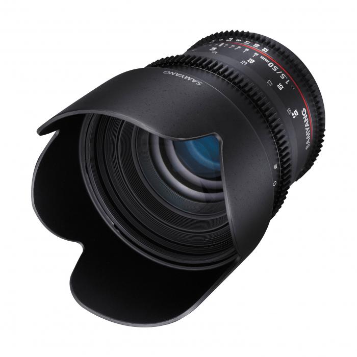 Samyang 50mm T1.5 – Canon EF