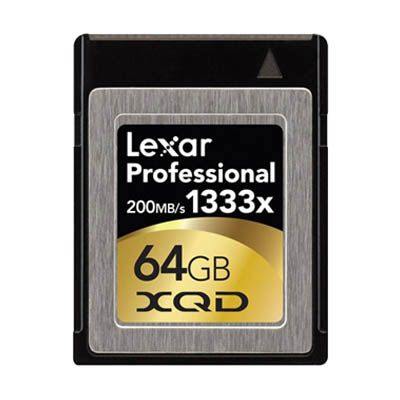 Lexar Professional 64GB XQD Card - Used