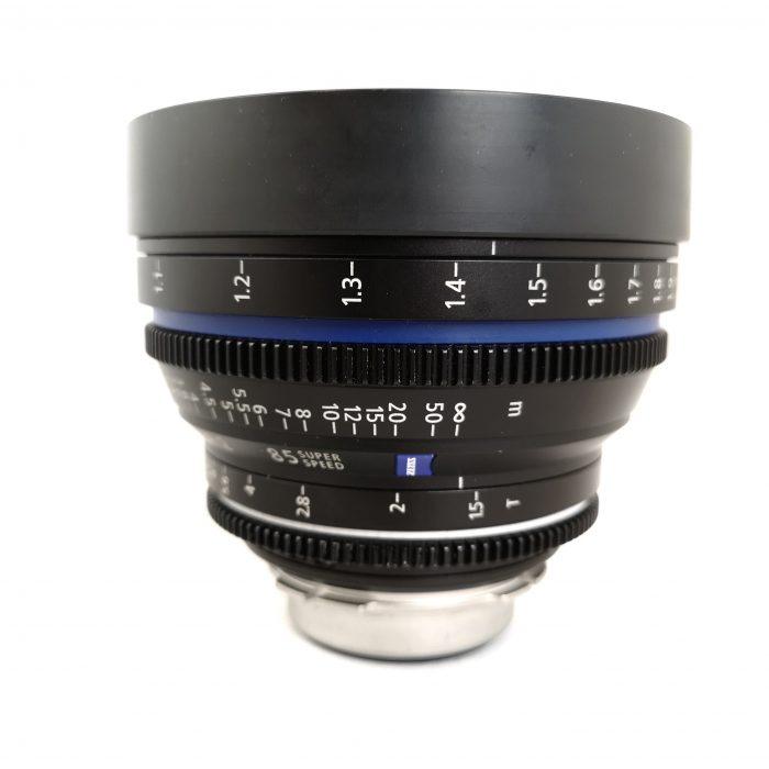 Zeiss CP.2 85mm T1.5 Super Speed Metric Lens - Used