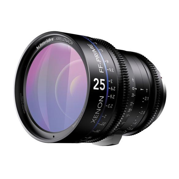 Schneider 25mm Canon EF Mount T2.1