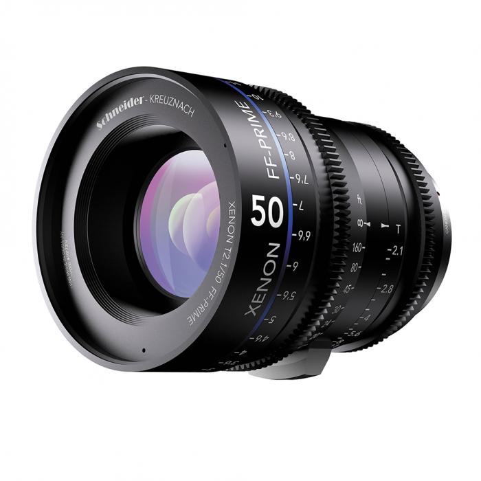 Schneider 50mm Canon EF Mount T2.1