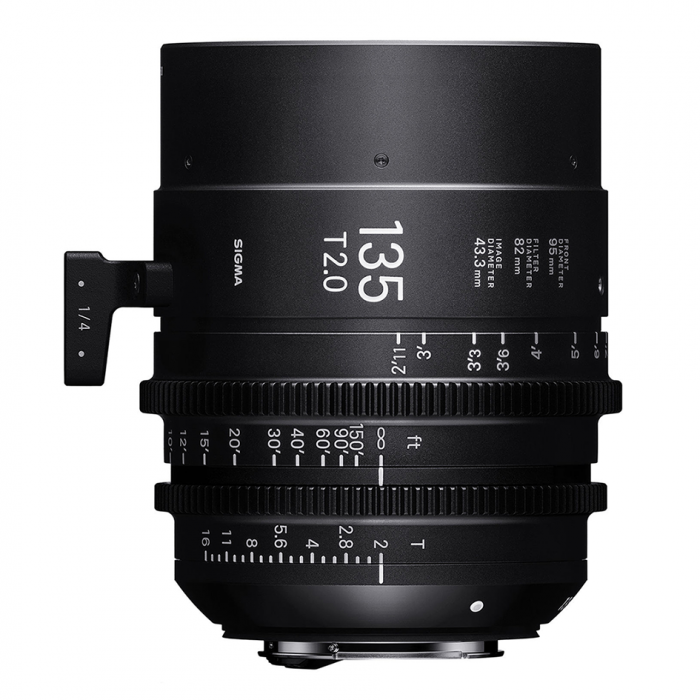 Sigma 135mm T2.0 FF High-Speed Prime