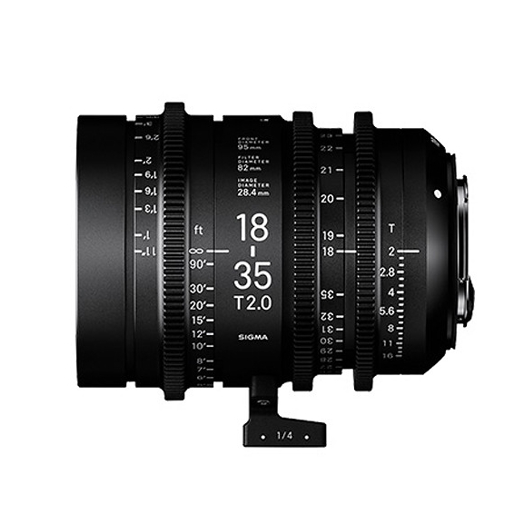 Sigma 18-35mm T2 Cine High-Speed Zoom Lens
