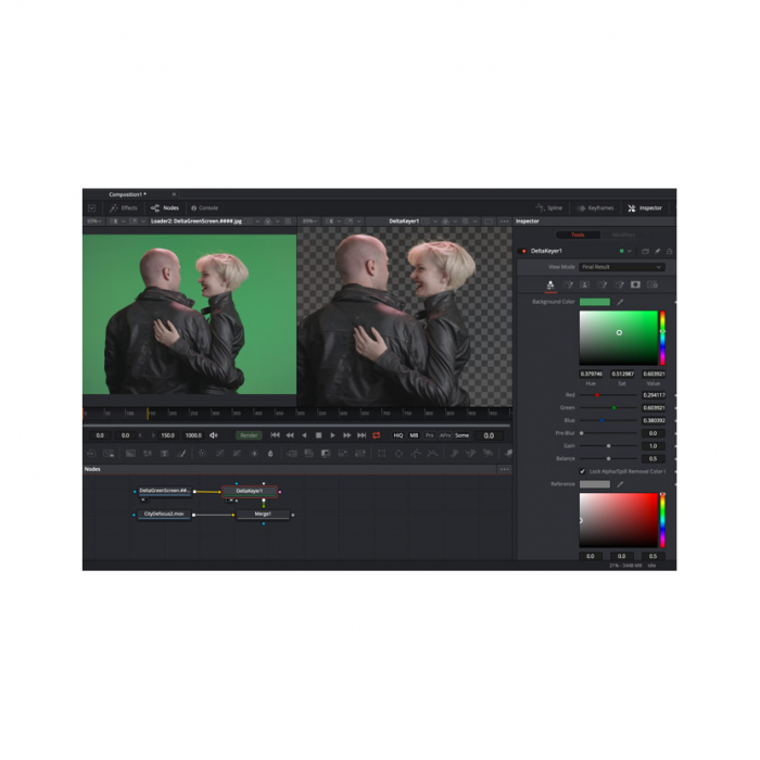 Blackmagic Fusion 16