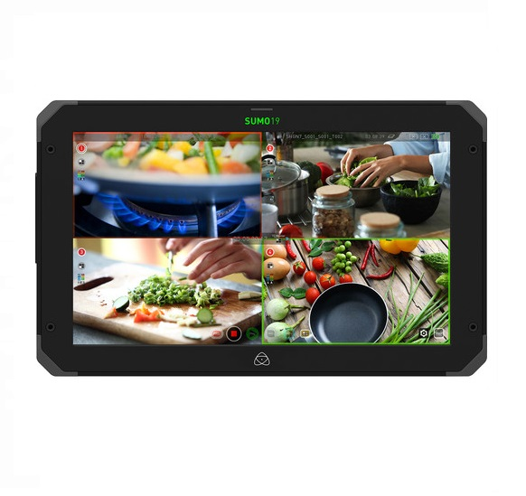 Atomos Sumo 19 Monitor with V-lock Power Kit